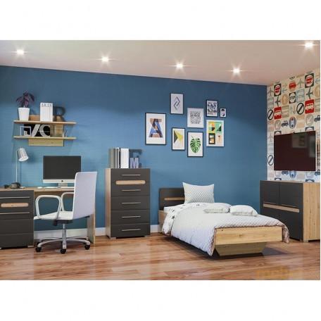 Детская комната Бьянко графит Світ меблів
