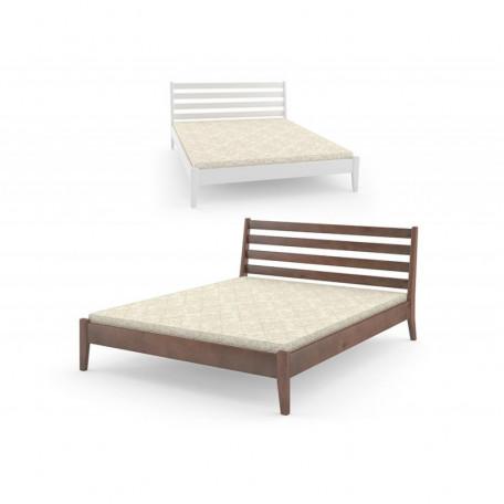 Двуспальная кровать Челси Орех лесовой Mebigrand Украина