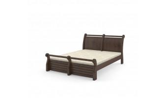 Двуспальная кровать Сицилия Орех темный Mebigrand Украина