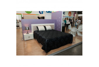 Karat White кровать 160 с подъемником Аква Родос
