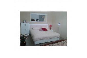 Karat White кровать 180 с подъемником Аква Родос