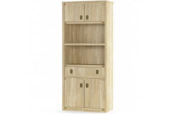Книжный шкаф Валенсия 4Д + 1Ш
