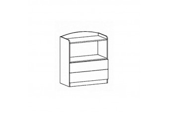 Комод 2Д2Ш Дисней Мебель Сервис