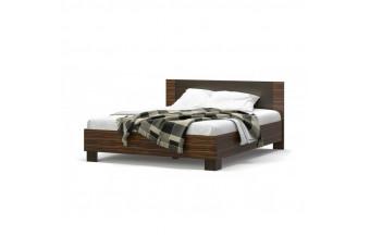 Кровать 160 Вероника Макасар/Венге