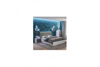 Кровать Астрид 1600 с подъемным механизмом серая