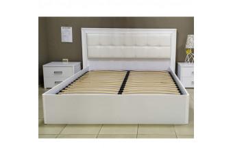 Кровать Bella с подъемным механизмом Белый глянец 160х200 BL-46-WB