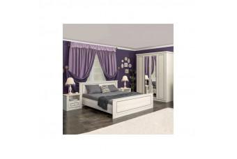 Кровать Бристоль 160 с ламелью Мебель Сервис