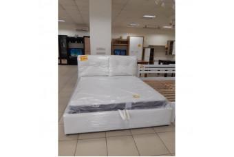 Кровать Мери-2 с под. мех. (кенон вайт) Николаев