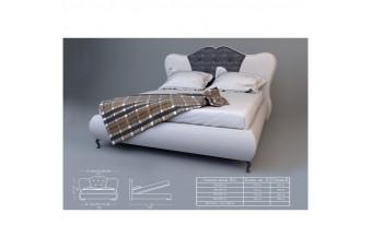 Кровать Монро B2 с под. мех. Николаев