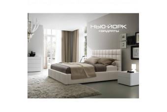 Кровать Нью-Йорк квадраты с под. мех. Николаев