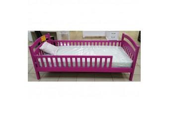 Кровать Жасмин люкс с бортиком 0,9 (окрас лиловый) Украина