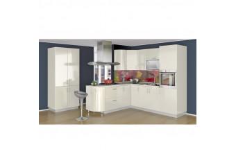 Кухня High Gloss Прямая Белая