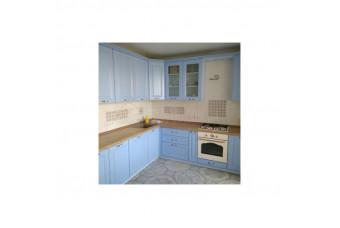 Кухня High Gloss Угловая МДФ крашеный