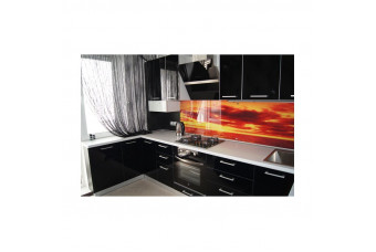 Кухня Mirror Gloss Угловая