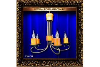 Люстра подвесная 2386-5H (38). Купить люстры в Одессе.