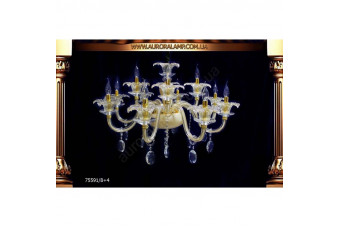 Люстра подвесная 75591-8+4. Свет люстры освещение Одесса.