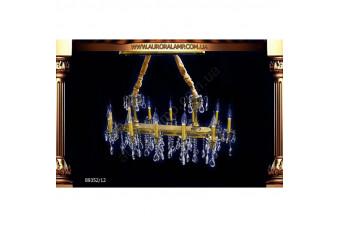 Люстра подвесная 89352-12. Свет люстры освещение Одесса.