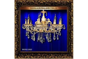 Люстра подвесная 89355/10GD. Купить люстры в Одессе.