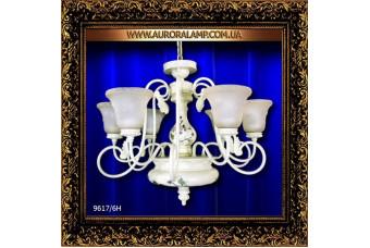 Люстра подвесная 9617-6H (35.1). Купить люстры в Одессе.