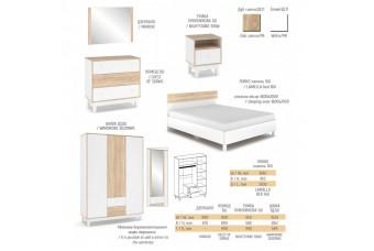Модульная спальня Глория Мебель-Сервис