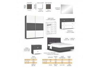 Модульная спальня Лондон Мебель-Сервис