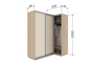 Приставной шкаф-купе Гарант 100х60х220 см.