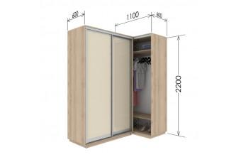 Приставной шкаф-купе Гарант 110х60х220 см.