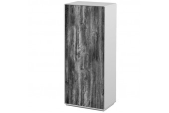 Шкаф Астрид 2-х дверный серый