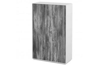 Шкаф Астрид 3-х дверный серый