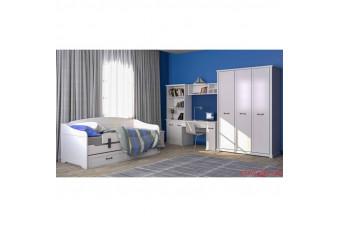 Спальня детская Бьянка Аква Родос