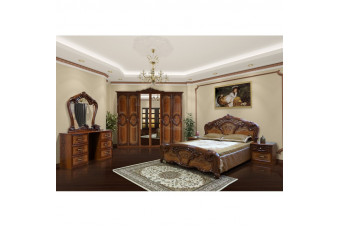 Спальня Кармен новая, орех Світ меблів